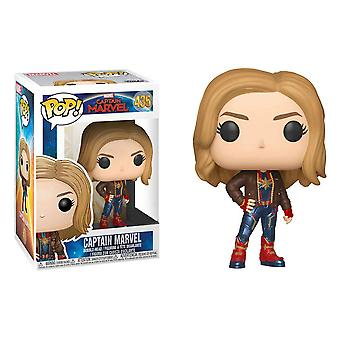 Captain Marvel with Jacket US Pop! Vinyl