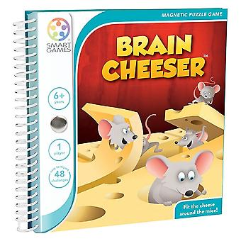 SmartGames Brain Cheeser Magnetic Puzzle Travel Game One Player Ages 6 Years+