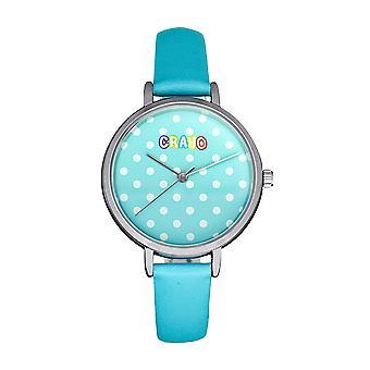 Crayo Dot Strap Watch - Bleu