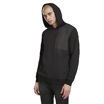 Urban Classics Men's Hoodie Military Shoulder Pocket
