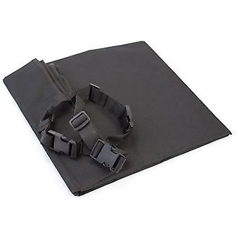Miscota 黒レザーシート カバー 140 × 145 cm