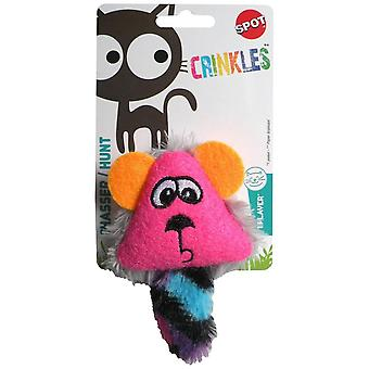 Agrobiothers Crinkle Face Cat Toy (Cats , Toys , Teaser Wands)