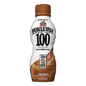 Muscle Milk 100 Cal Chocolate-( 414 Ml X 12 Bottles )