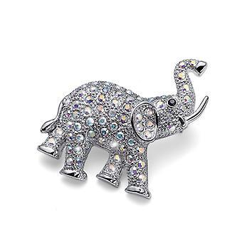Brosche Elefant