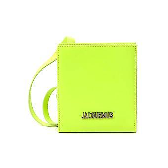 Jacquemus 205ac2120562220 Men's Yellow Leather Wallet