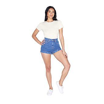 الملابس الأمريكية المرأة & ق ميكس مودال كم قصير، نجمة بيضاء، حجم X-كبير