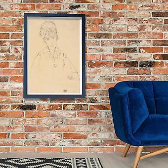 Egon Schiele - Edith Schiele - 1915 Poster Print Giclee