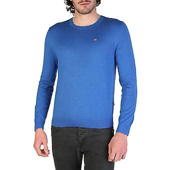 Napapijri Original Men Spring/Summer Sweater - Blue Color 34682