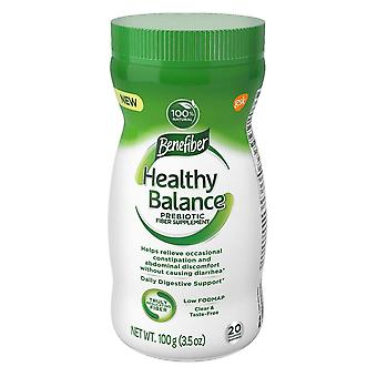 Benefiber healthy balance, prebiotic fiber support, 3.5 oz