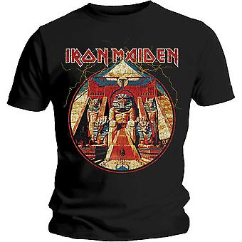 Camiseta do Iron Maiden Powerslave Lightning