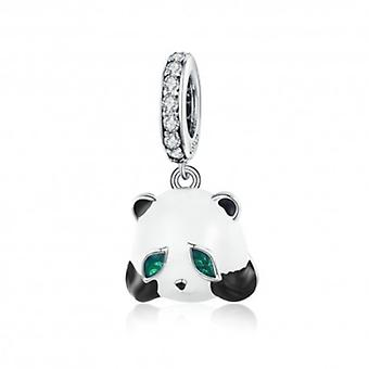 Sterling Silver Pendant Charm Chinese Panda - 6024