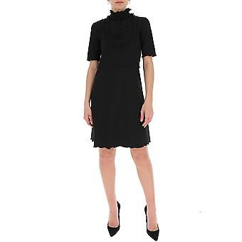 See By Chloé Chs20sjr06094001 Women's Black Cotton Dress