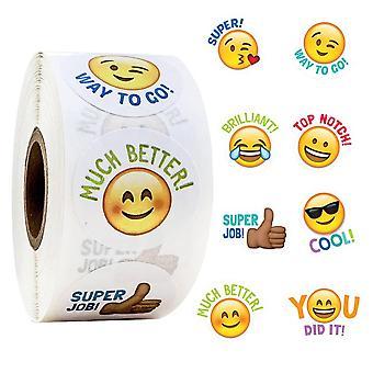 500x Stickers - Emoji