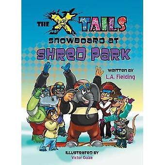 The Xtails Snowboard at Shred Park by Fielding & L.A.