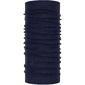 Buff Miweight Merino Wool Protective Outdoor Tubular Bandana Scarf - Bleu