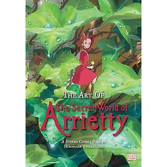Kunst van de geheime wereld van Arrietty hardcover door Hiromasa Yonebayashi