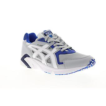 Asics Gel DS Trainer OG  Mens Gray Mesh Lace Up Low Top Sneakers Shoes