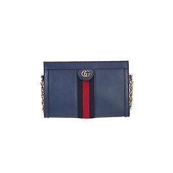 Gucci 503877dj2dg4178 Women's Blue Leather Briefcase