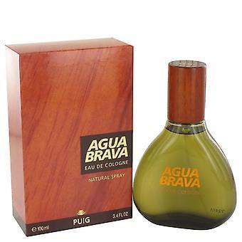 Agua Brava Eau De Cologne Spray By Antonio Puig 3.4 oz Eau De Cologne Spray