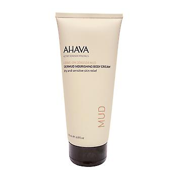 AHAVA dode zee modder Dermud Nourishing Body Cream, 6,8.