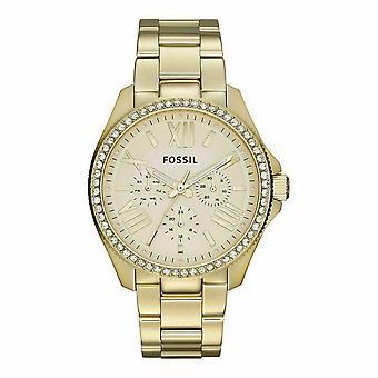 Fossil AM4482 Rostfritt stål Guld Ladies Watch