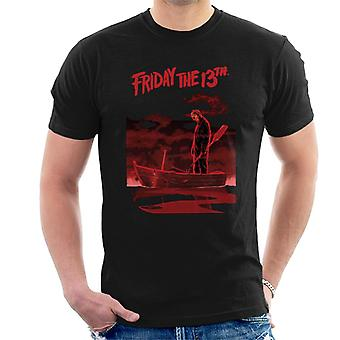 Friday the 13th Jason Voorhees Bloody Boat Men's T-Shirt