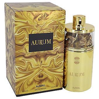 Ajmal Aurum Eau De Parfum Spray By Ajmal 2.5 oz Eau De Parfum Spray