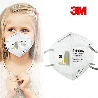 2-pak 3m 9003v Børnestørrelse Mouthguard ansigtsmaske Kn90