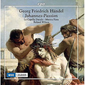 Haendel / Musica Fiata - Passion [CD] Usa import