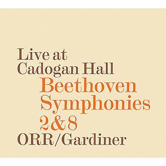 Beethoven / Gardiner / Orchestre Revolutionnaire - Syms 2 & 8 [CD] USA import