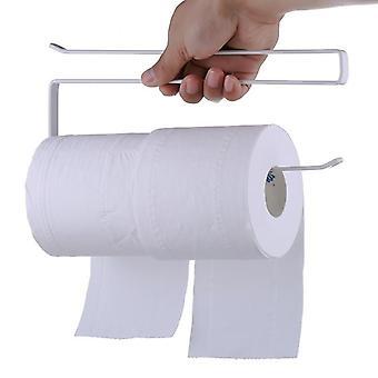 Ajtó rack fürdőszoba roll papír tartó - vas papír törölköző rack konyha úszó rack modern polc párkány farm dekoráció