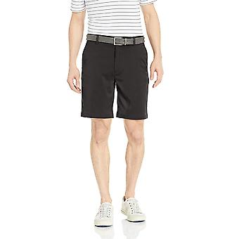 Essentials Men's Standard Classic-Fit Stretch Golf Short,, Black, Size
