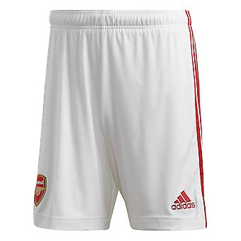 adidas Arsenal 2020/21 Mens Home Voetbal Kort Wit