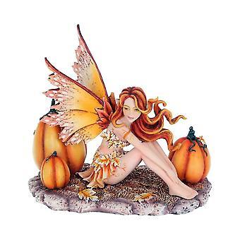 Autumn Fae Faerie by Amy Brown - Fairy Ornament Figurine Statue 15.5cm