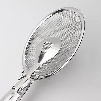 Steel Bbq Tong Fried Frying Colander Mesh Strainer Filter - Mesh Spoon Fried