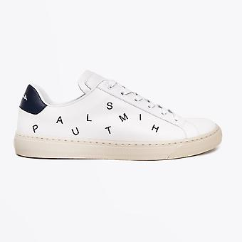 Paul Smith  - Leather 'Hansen' Letters Sneaker - White