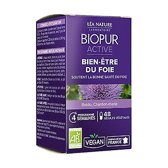 Active vegetable capsule well-being of the liver ORGANIC 48 capsules