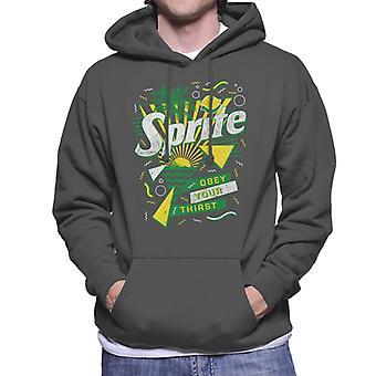 Sprite Retro 90s Sunset Men's Hooded Sweatshirt