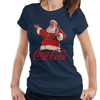 Coca Cola Christmas Santa pullo naisten ' s T-paita