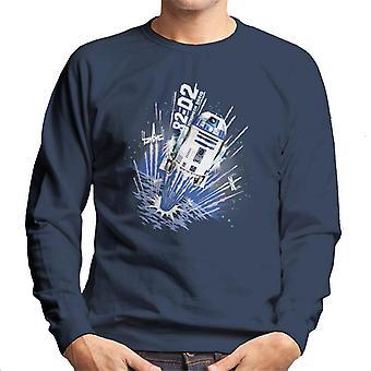 Star Wars R2D2 astromech Droid miehet ' s paita