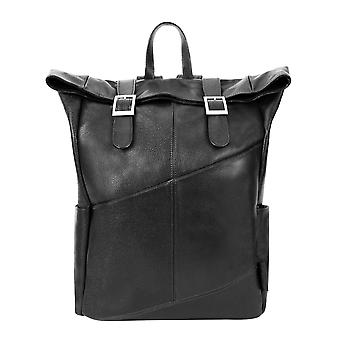 """88735, S Series Kennedy 17"""" Leather Dual Access Laptop Backpack"""