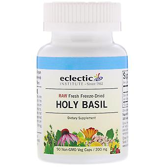 Eclectic Institute, Holy Basil, 200 mg, 90 Non-GMO Veg Caps
