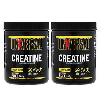 Universal Nutrition, Creatine, Unflavored, 2 Bottles, 200 g Each
