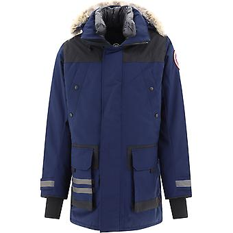 Canada Goose Cg9513m3563 Men's Blue Polyester Outerwear Jacket