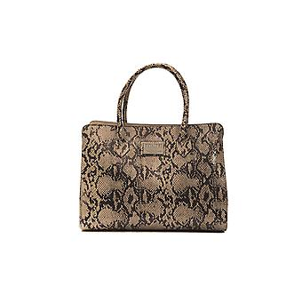 Pompei Donatella Tortora Taupe Handbag PO667810