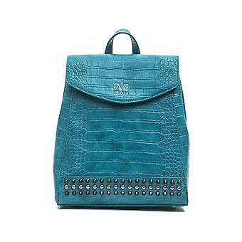 Italian mini backpack - turquaise 19v69 italia