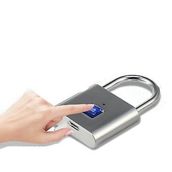 10 usuários/40 usuários Impressão digital Biometric USB Carregando bloqueio impermeável