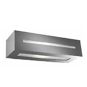 Forlight Alfil - Udendørs Væg Light Urban Grey 1x E27 IP44
