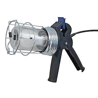 Faithfull Power Plus Heavy-Duty Trailing Gripper Lamp 5 Metre 240V FPPSLGRIPLE