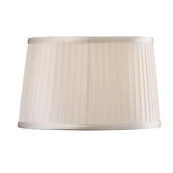 30 Cm Fabric Lampshade White